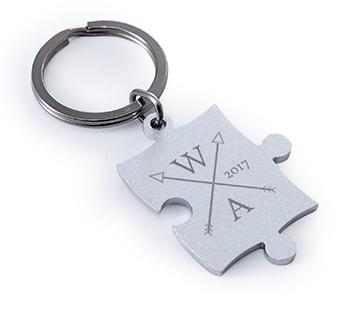 Puzzle Keyring
