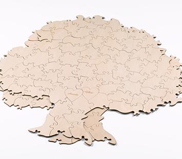 Tree Shaped Puzzles