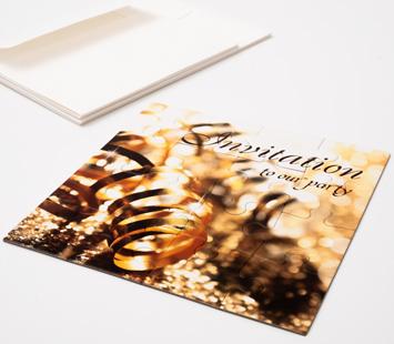6x6 Inch Invitation Puzzles