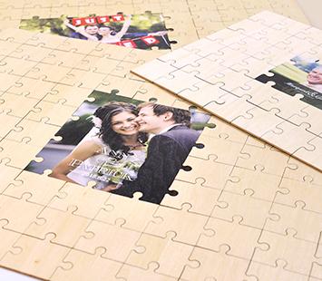 Photo Guest Book Puzzle