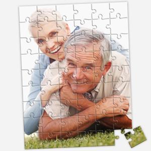 16.5 x 12 inch custom photo puzzle