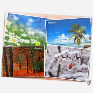 18 x 24 inch custom collage puzzle