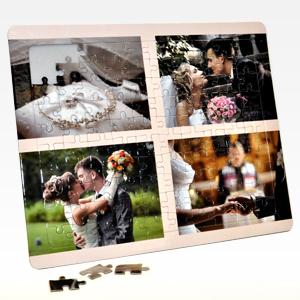 8x10 wedding photos puzzle