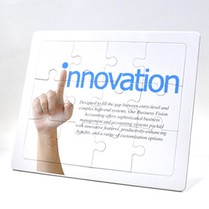 8 x 10 inch promotional standing puzzle
